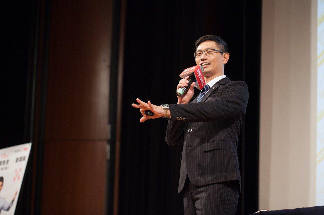 千萬人氣的超級講師:夢想者圓夢學院共同創辦人鄭雲龍。 業者/提供。