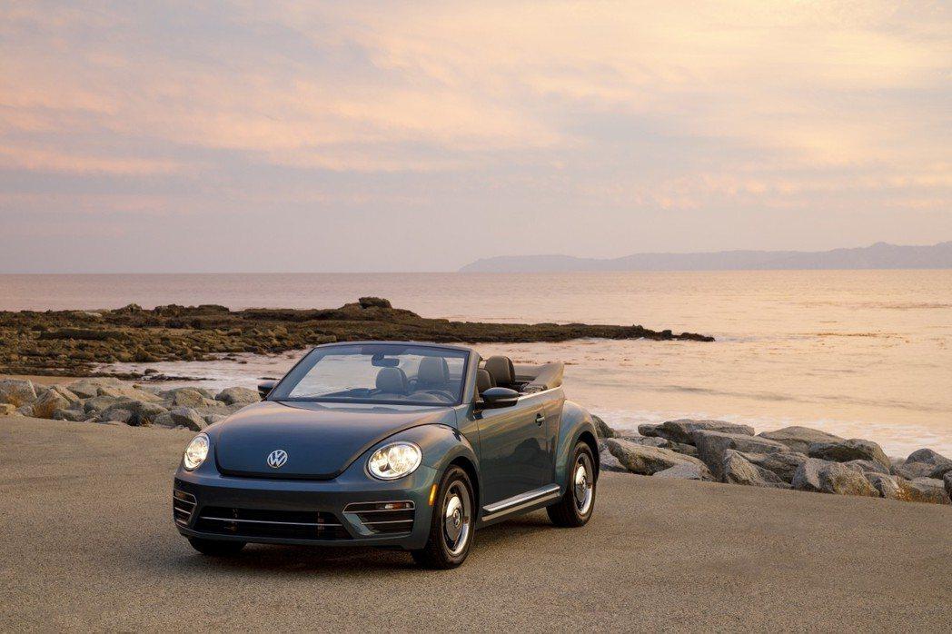 圖為2018年式Volkswagen Beetle Convertible。 ...