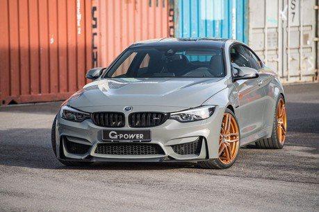 (影音) G-Power套件上身!BMW M4 CS增至600hp