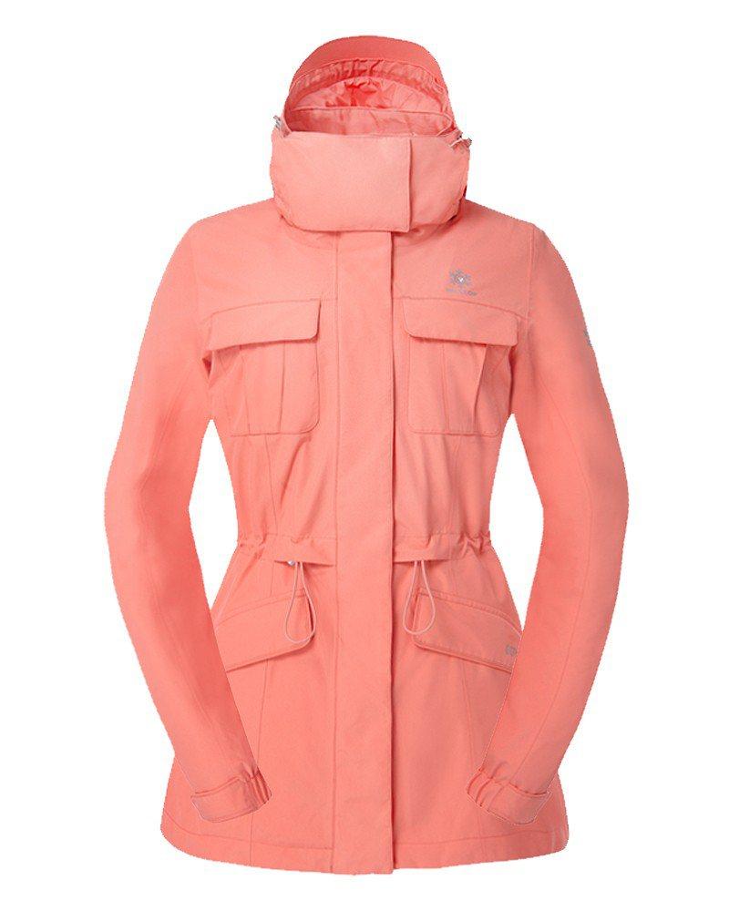 GORE-TEX 2合1防水羽絨短大衣,約18,800元。圖/Hilltop提供