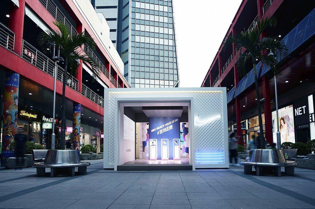 自即日起於台北信義威秀廣場打造試穿體驗空間,陸續也會在西門紅樓廣場、華山文創園區...