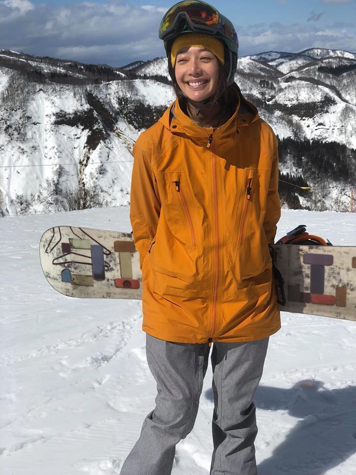 王心恬與姚元浩都熱愛戶外運動。圖/摘自臉書