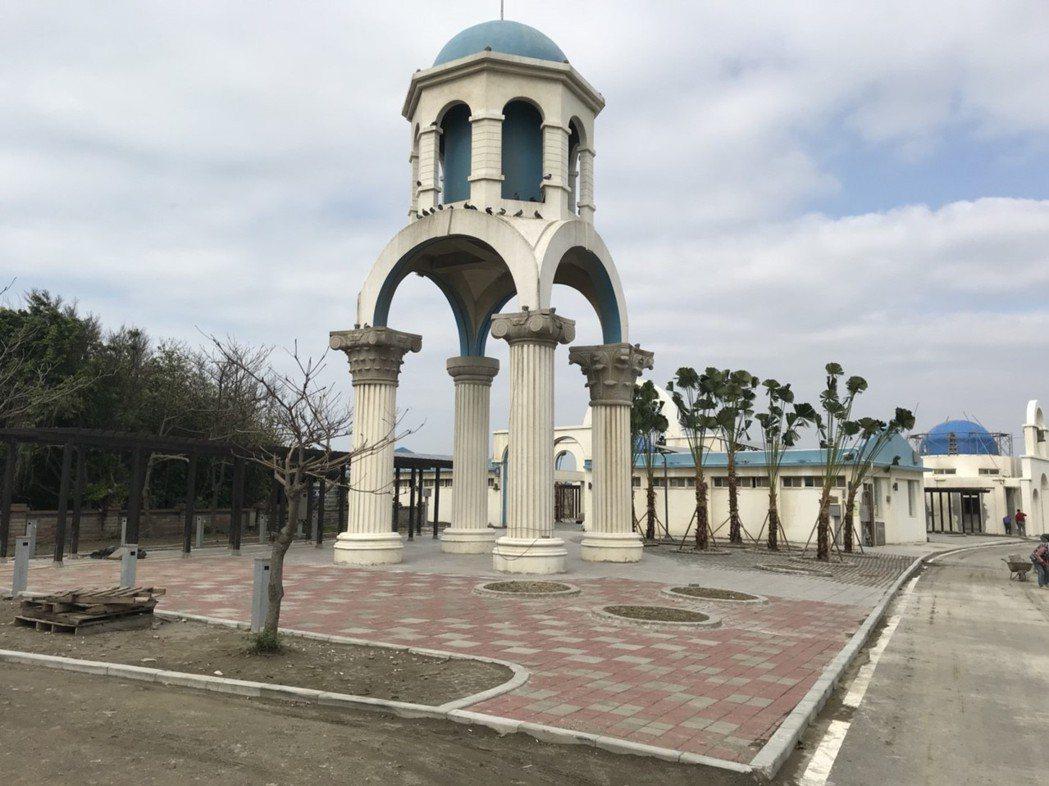 新竹市南寮舊港環境改善工程完工,將於4月啟用。記者林家琛/攝影