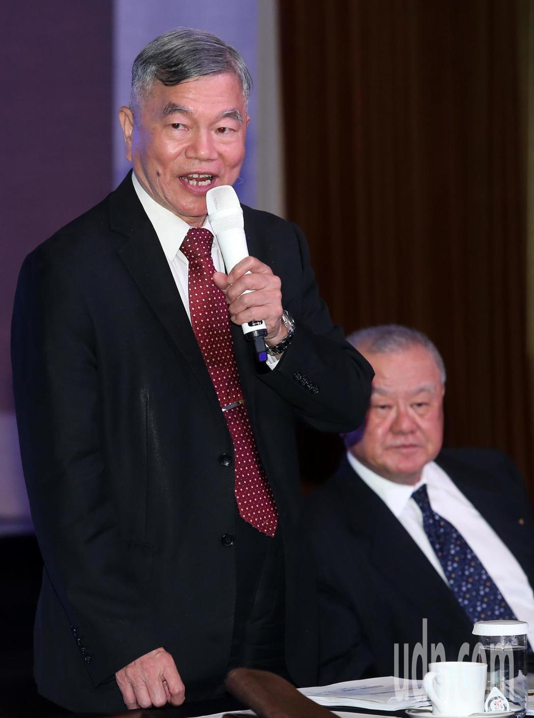 工商協進會今天邀請經濟部長沈榮津演講。記者徐兆玄/攝影