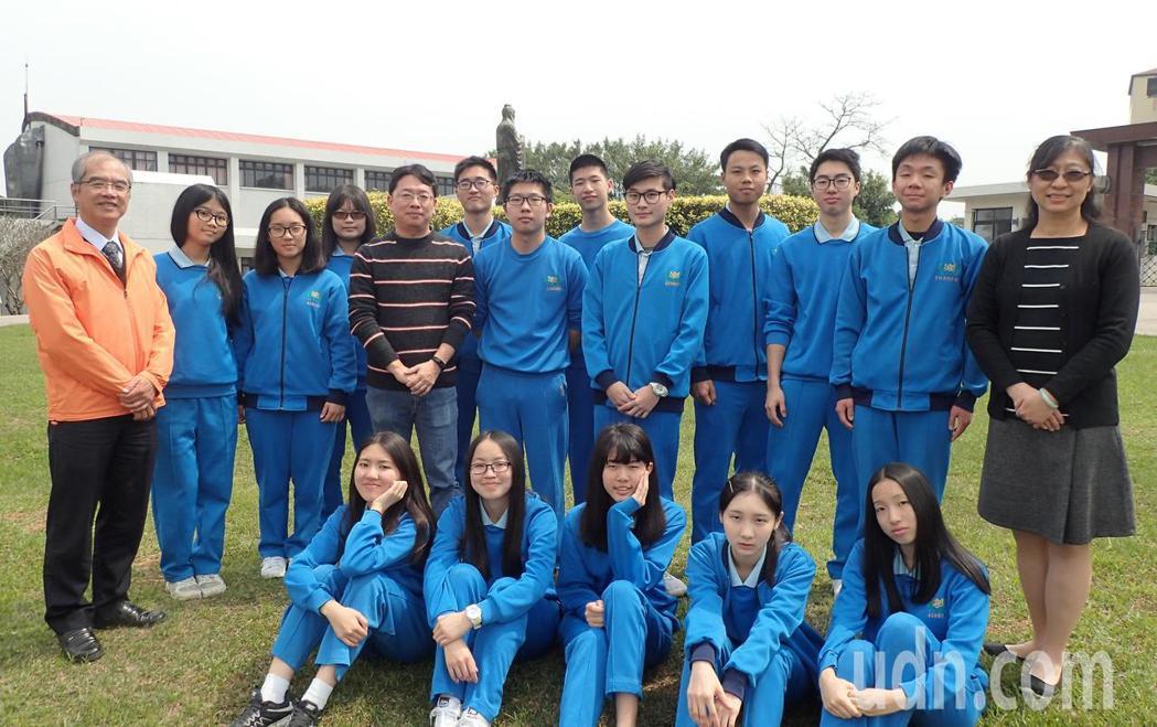 大華中學繁星錄取率78.6%。記者鄭國樑/攝影