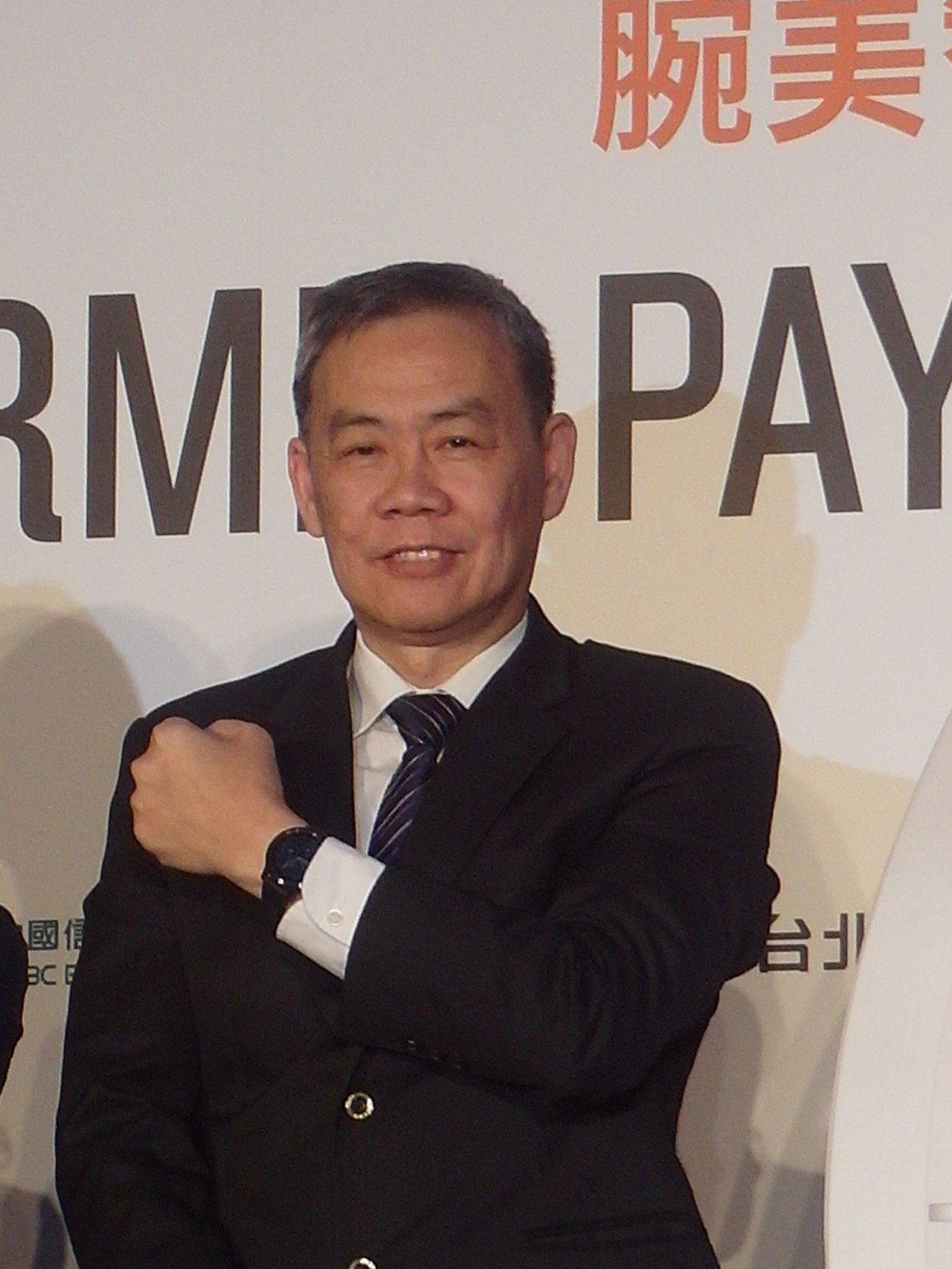 Garmin亞太區總經理黃寶藏。記者何佩儒/攝影