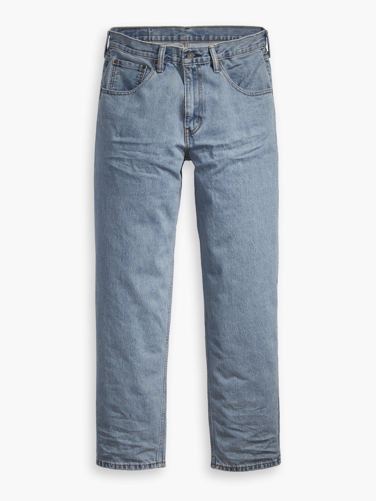 Levis銀標系列淺藍寬版工作長褲,約3,790元。圖/Levis提供