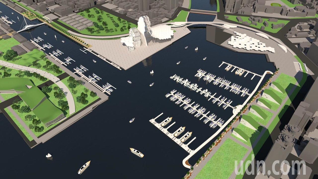 亞洲新灣區國際碼頭,水域占地3.4公頃,陸域1.1公頃,被視為「 蛋黃中的蛋黃」...