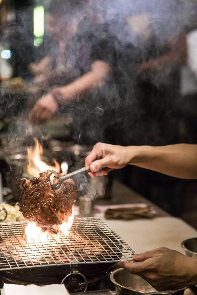 開店已有10年的大腕燒肉,成為此次20家摘星餐廳中,唯一一家以燒烤為主的餐廳。圖...