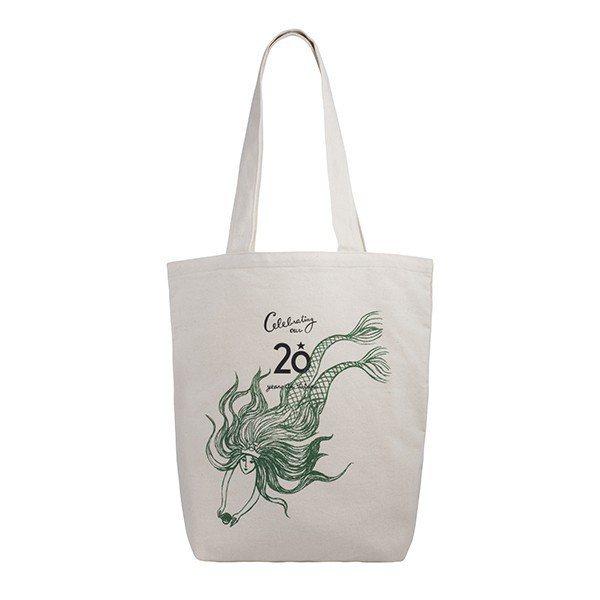 20周年女神提袋580元。圖/星巴克提供