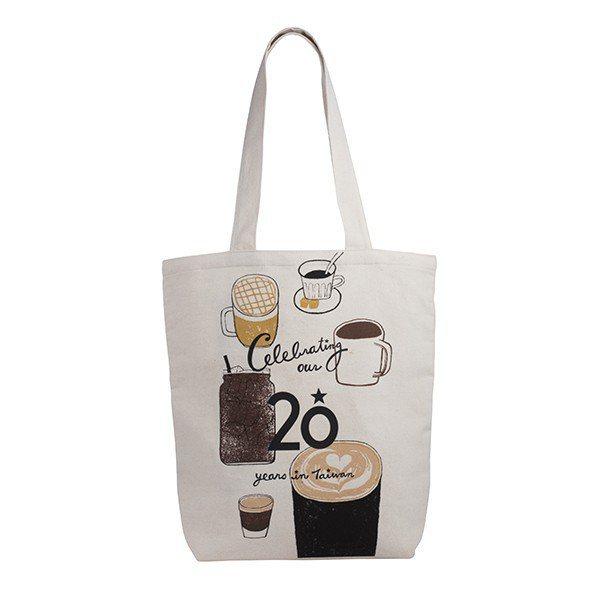 20周年咖啡提袋580元。圖/星巴克提供