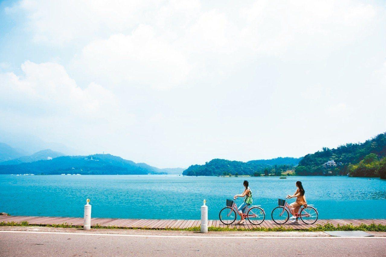 飯店有提供免費腳踏車租借服務。 圖/力麗觀光提供