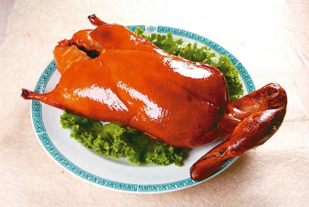 大三元酒樓招牌菜烤鴨。 圖/大三元酒樓提供