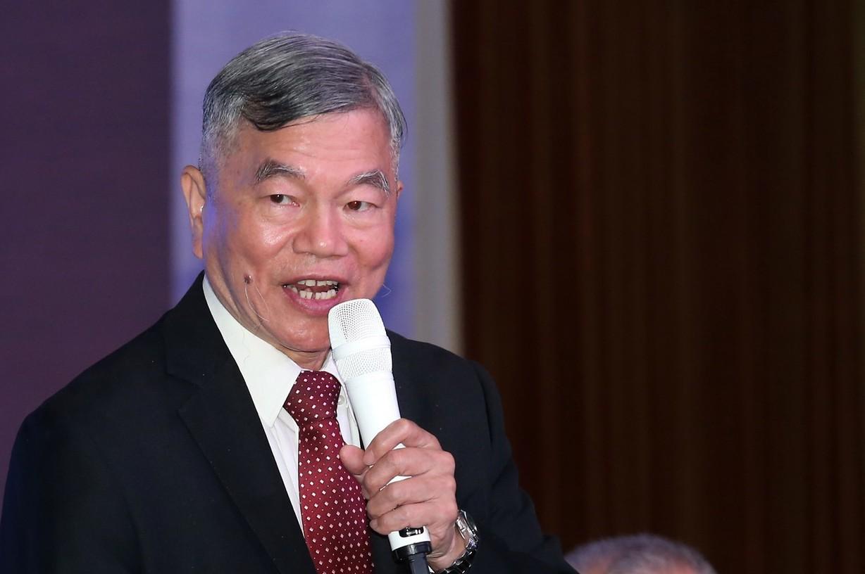 經濟部長沈榮津。 記者徐兆玄/攝影