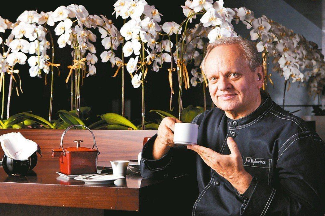 名廚侯布雄在台的法式餐廳被摘星。 圖/BELLAVITA提供