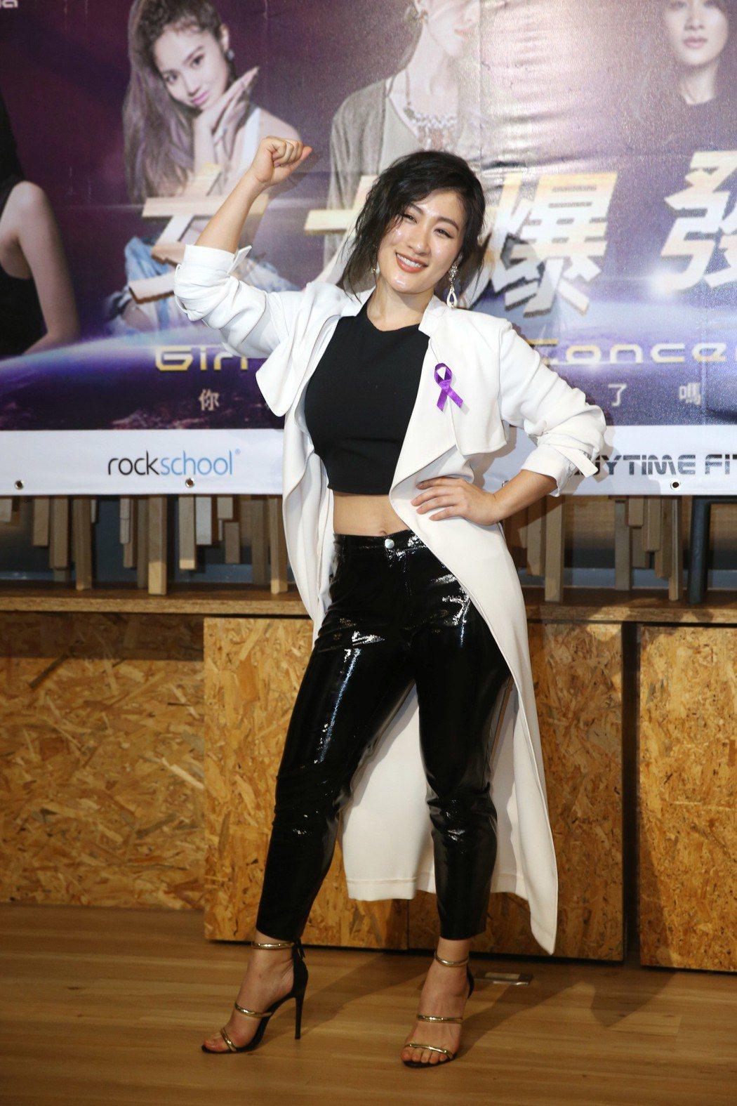 梁心頤、劉明湘(圖)、微甜女孩將在台中舉辦一場女力爆發演唱會。記者邱德祥/攝影