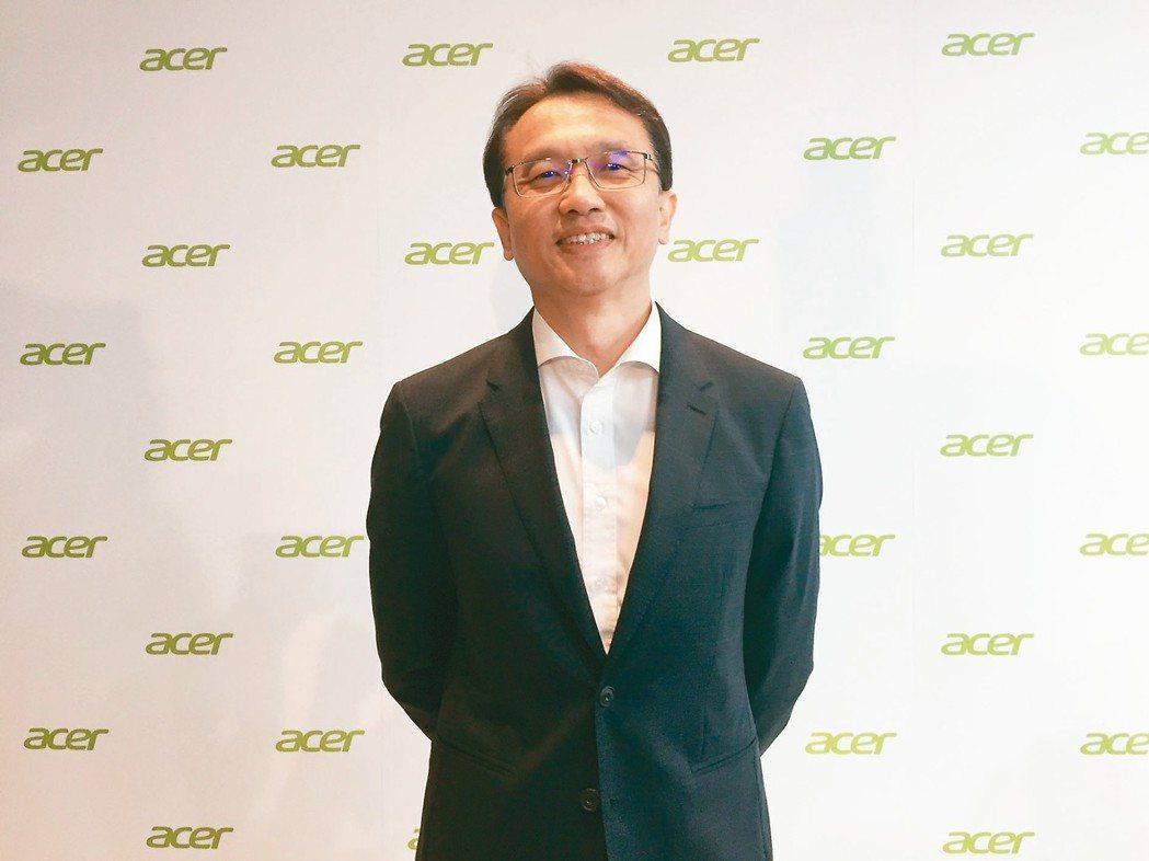 宏碁董事長陳俊聖 記者曾仁凱/攝影