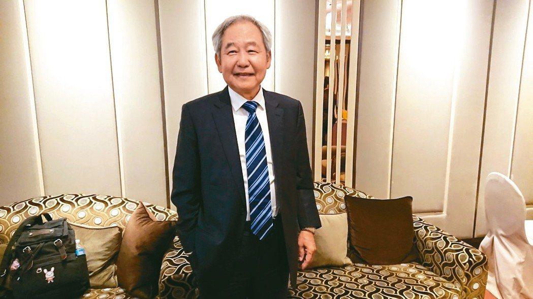 大陸建設董事長張良吉 記者陳美玲/攝影