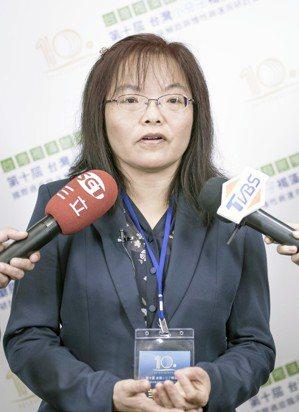 國家衛生研究院分子與基因醫學研究所副所長喻秋華。台灣褐藻醣膠發展學會/提供