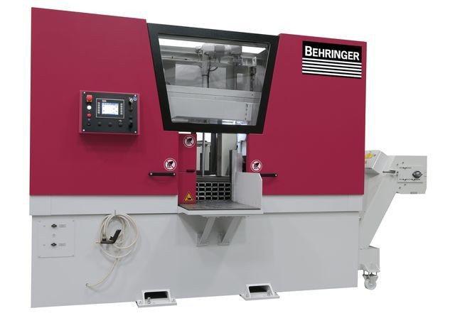 羽陞企業公司引進的貝靈格HBE-A Dynamic系列鋸床,採電腦控制的高效鋸切...