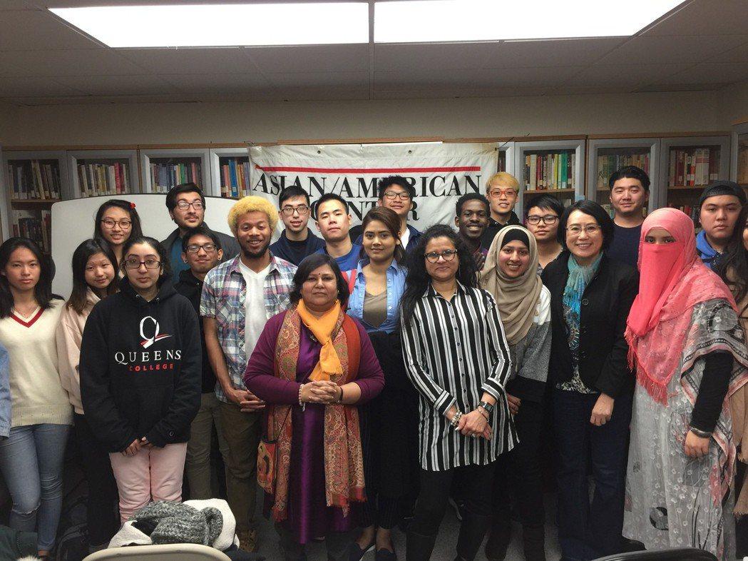 紐約市立大學皇后學院亞美研究中心14日舉辦亞裔族群與多元化社區座談會,以改善主流...