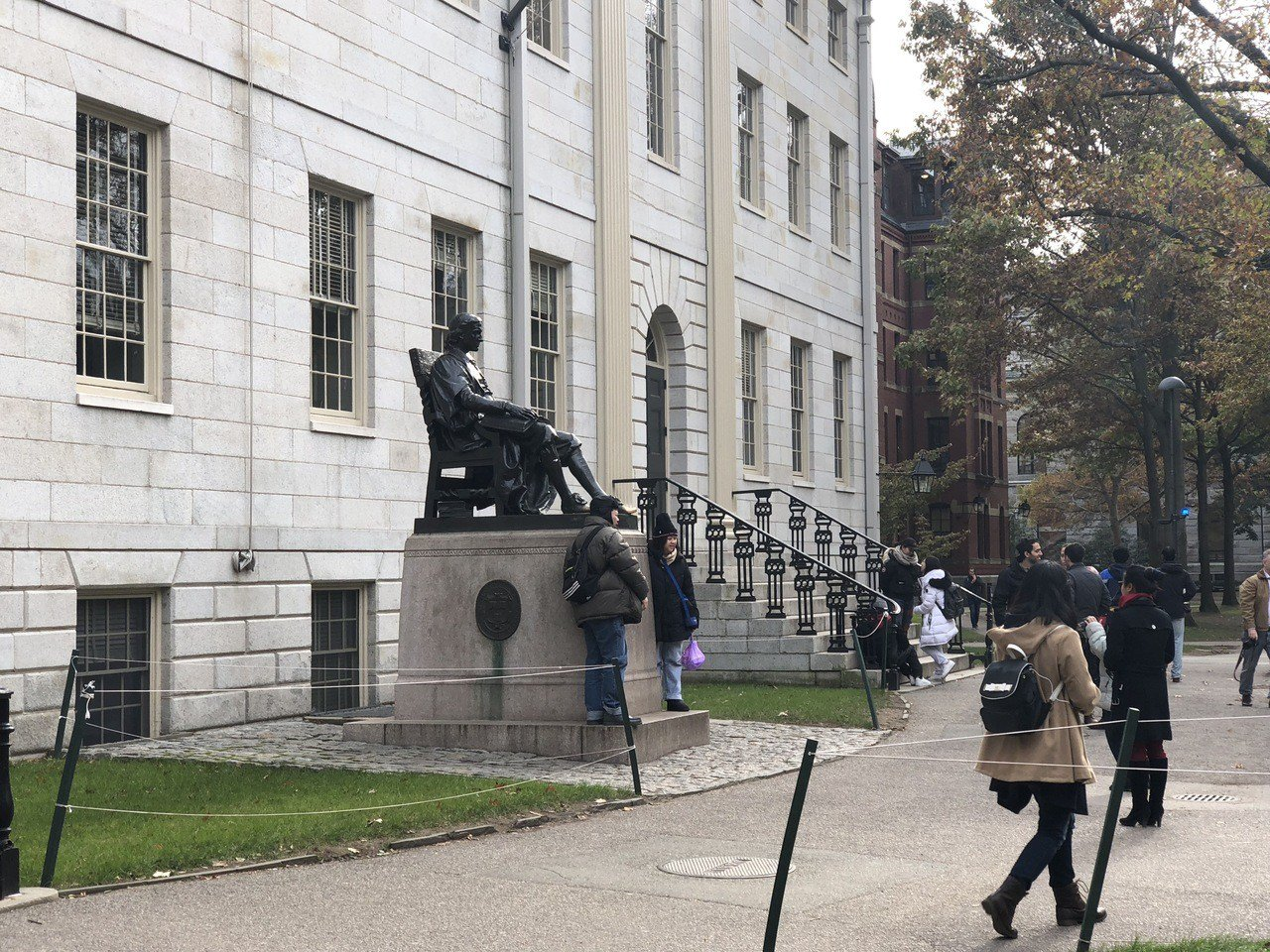 哈佛亞裔歧視官司最早今夏開審。 記者劉晨懿之攝影。