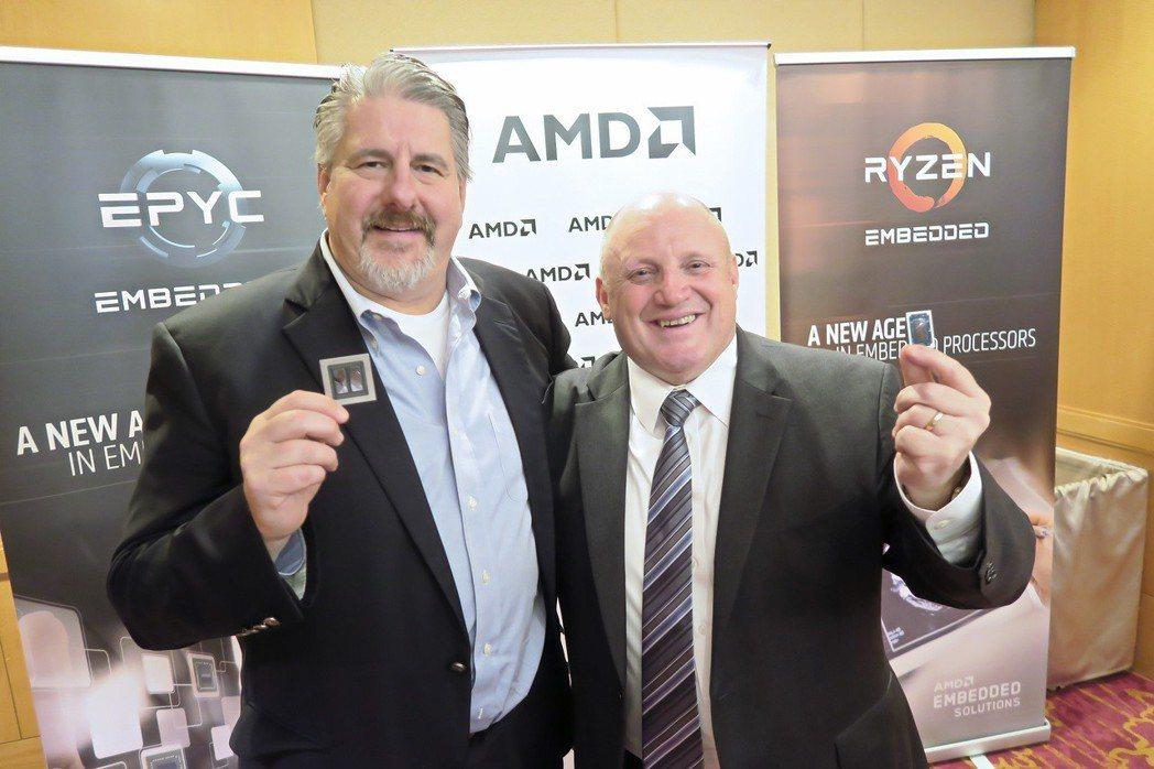 AMD資料中心與嵌入式解決方案事業群業務全球副總裁Steve Longoria(...