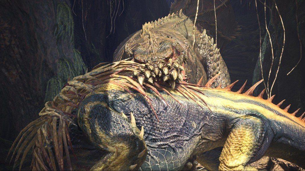 身為暴食主義者的恐暴龍,還能在叼著獵物的情況下戰鬥。