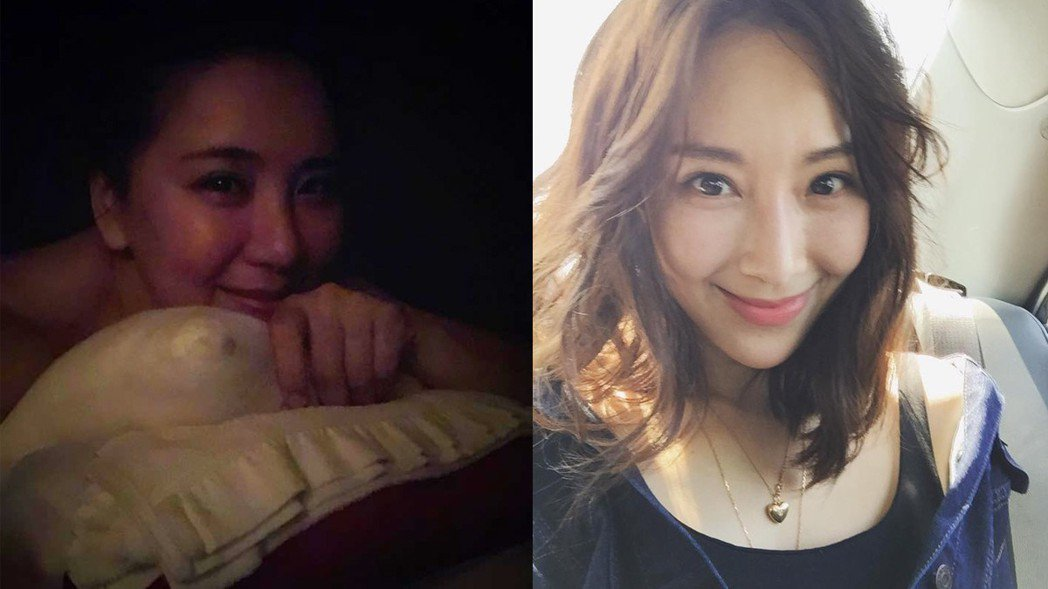 許多網友認為,小禎瘦下來有點像隋棠。 圖/擷自臉書