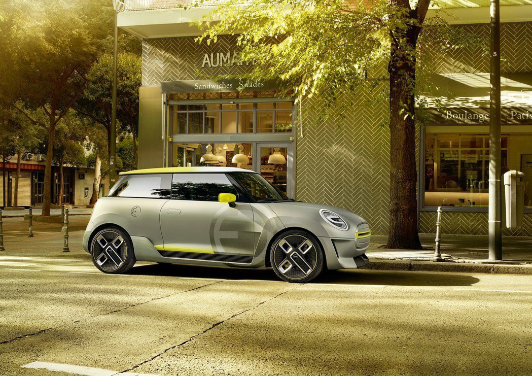 圖為MINI Electric Concept。 摘自BMW