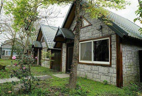 葫堤園的獨棟木屋住宿空間有如置身童話世界。 葫堤園/提供