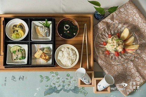 葫堤園提供精緻日式餐點。 葫堤園/提供