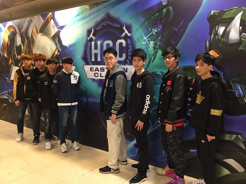 八強隊伍包含中、韓、台的選手。