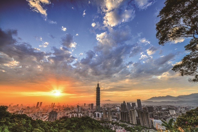At Taipei 101 Observatory, one can enjoy...