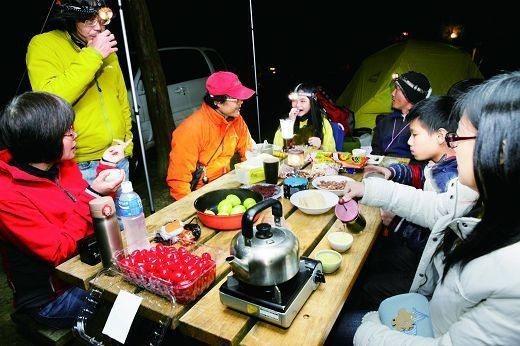 只要準備好食材與用具,在戶外也可享受好味道。(攝影/楊智仁)