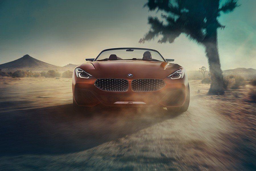 BMW Z4 Concept。 BMW提供
