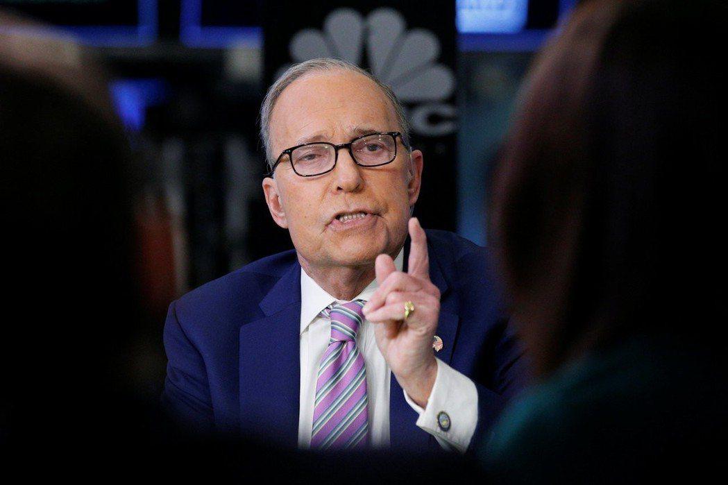 電視名嘴柯德洛將出任白宮首席經濟顧問。 路透