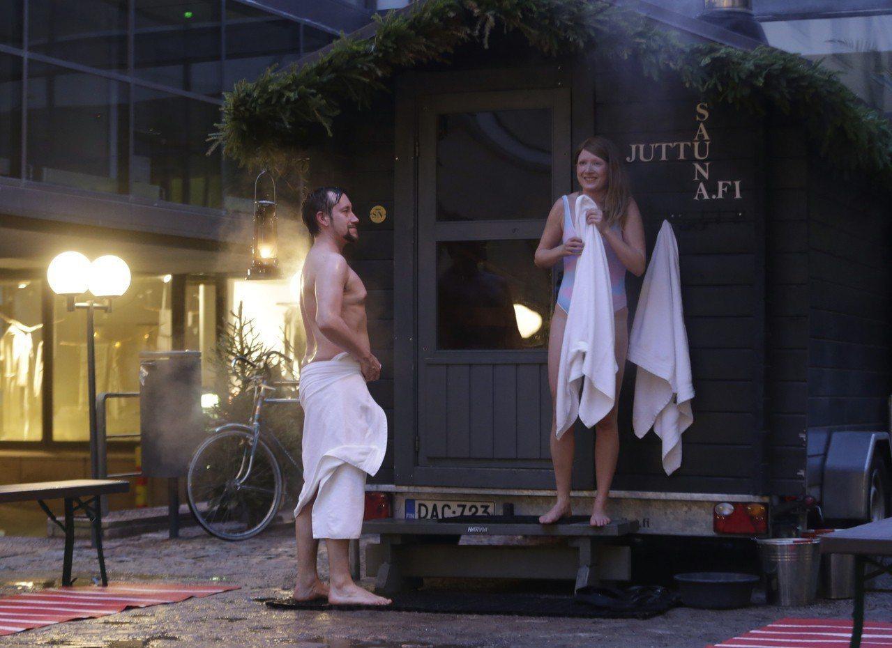 芬蘭三溫暖。美聯社