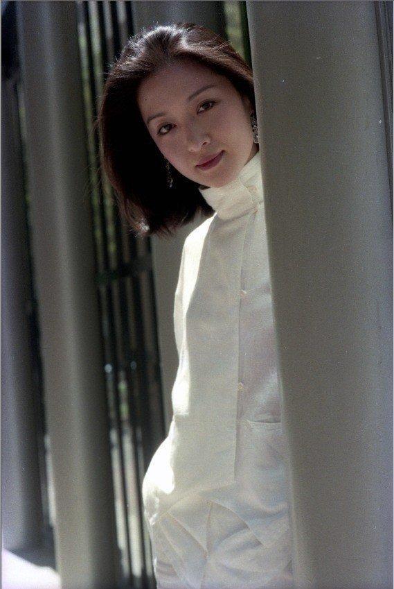胡茵夢是影壇著名的古典靈秀美女。圖/報系資料照片