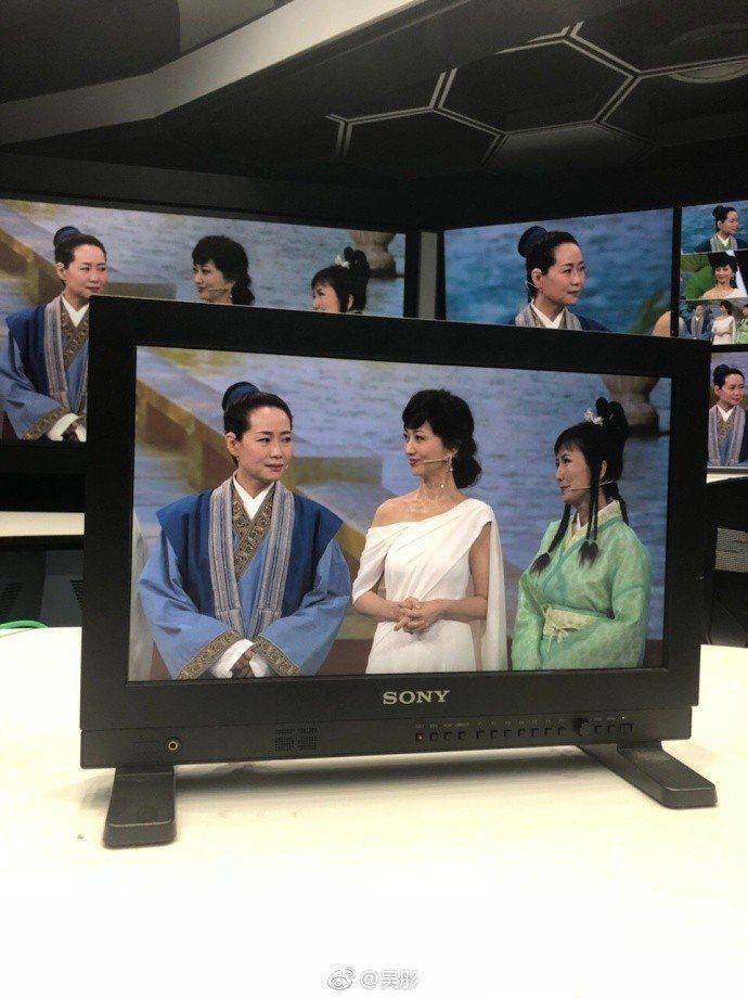 左起:葉童、趙雅芝、陳美琪。圖/摘自微博