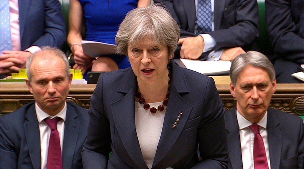 英國首相梅伊14日在下議院就俄羅斯前雙面諜史柯里帕父女遭人下毒案發表報告,提出驅...