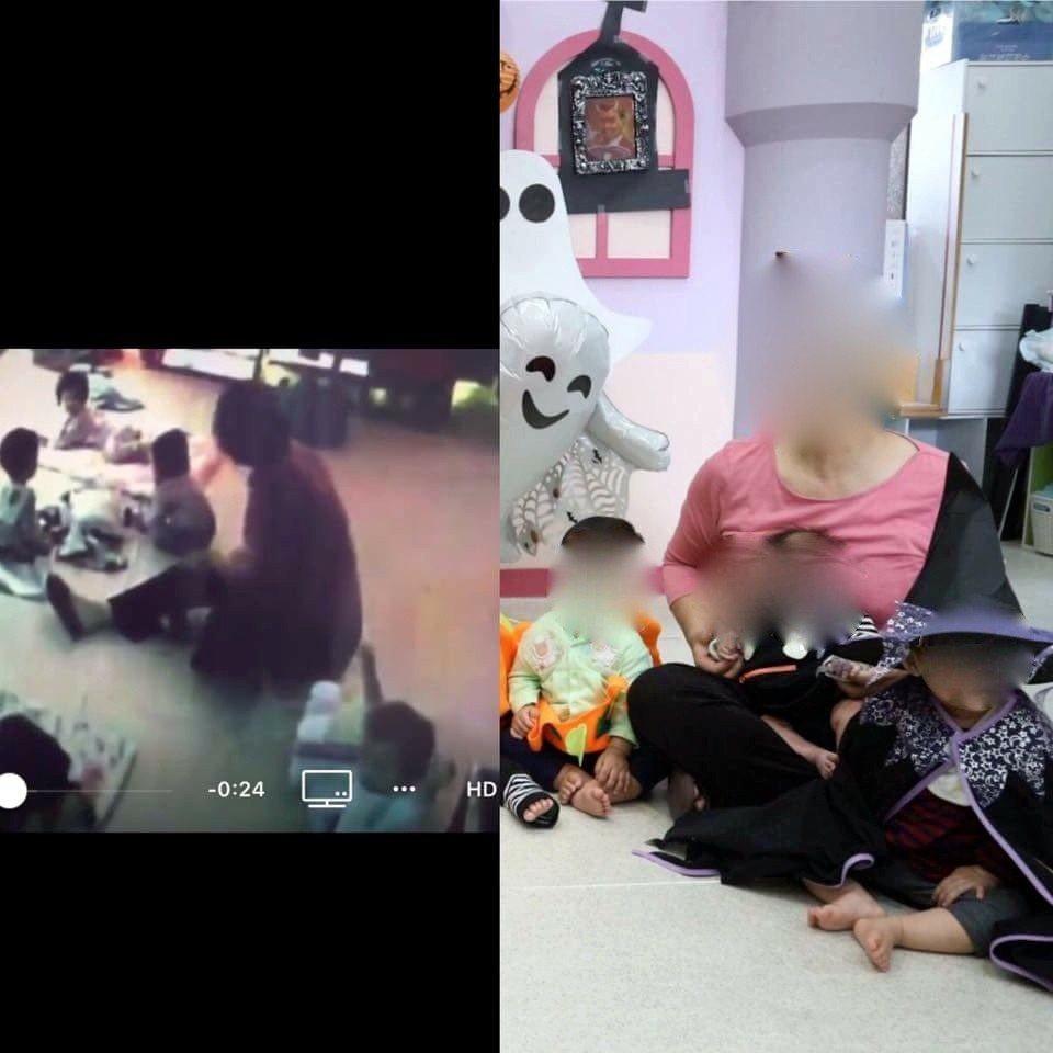 台中市北屯一間托嬰中心驚傳虐嬰事件,蘇姓保母也被網友起底。圖/取自網路