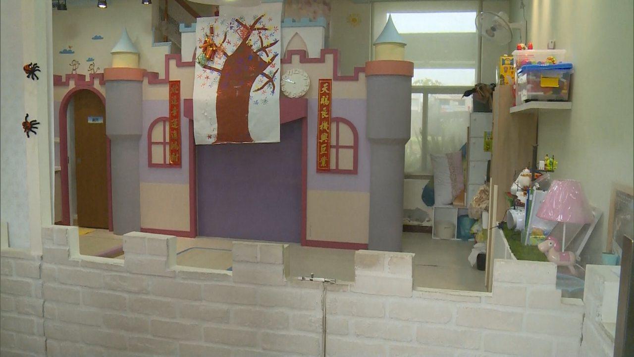 台中市北屯一間托嬰中心驚傳虐嬰事件,業者表示,自己的雙胞胎女兒也在園內。記者喻文...