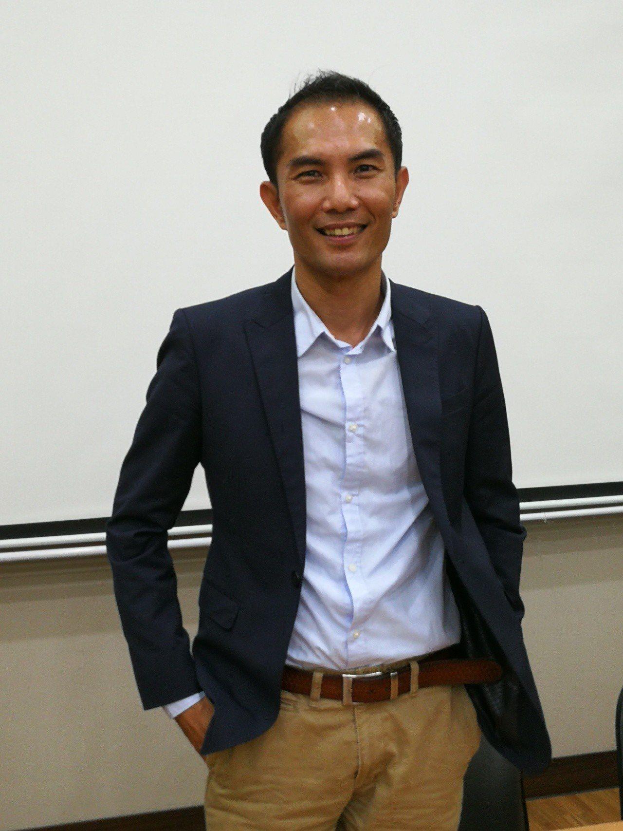 即將上任的屏東縣政府文化處處長吳明榮。記者蔣繼平/翻攝