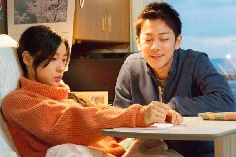佐藤健與土屋太鳳在新片《跨越8年的新娘》一起共度難關。圖/向洋提供
