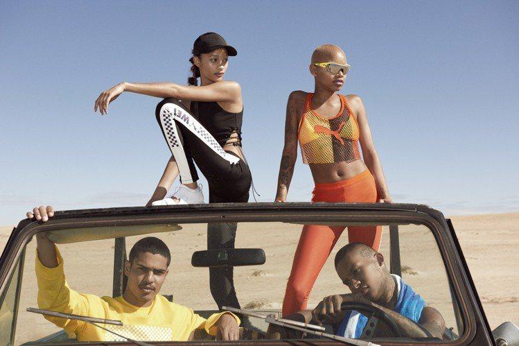 蕾哈娜與Puma合作多季的Fenty Puma系列,春夏新品又再度引起性感話題。...