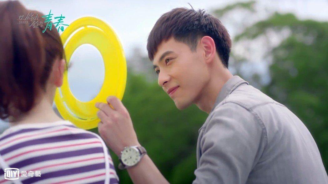 晨翔重回戲劇圈,演出「以你為名的青春」。圖/愛奇藝台灣站提供