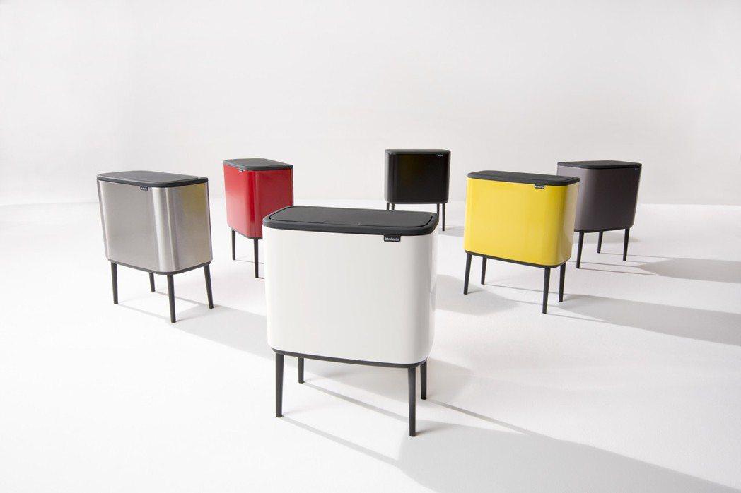 荷蘭Brabantia BO系列時尚環保桶,特價8,160元。圖/旺代企業提供