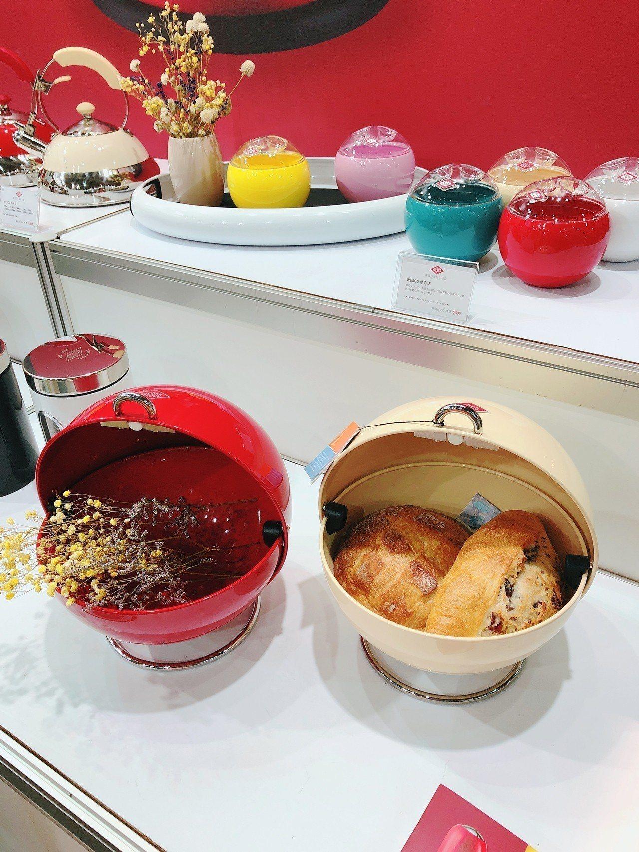 德國百年居家用品WESCO,以多用途廚房用品設計受到消費者歡迎。記者黃筱晴/攝影