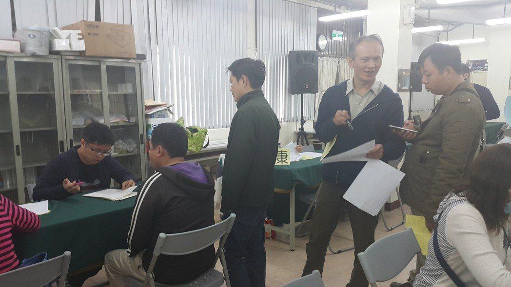 因應年後求職需求,加工區在高雄連辦兩場媒合活動。記者徐白櫻/攝影